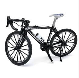 Liga de zinco dedo mountain bike mini modelo de bicicleta legal menino brinquedo decoração artesanato família de Fornecedores de carros do besouro volkswagen