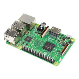 Orijinal Ahududu Pi 3 Model B Dört Çekirdekli 1.2 GHz Broadcom BCM2837 WIFI ve Bluetooth ile 64bit CPU nereden hayvan telefon tutucuları tedarikçiler