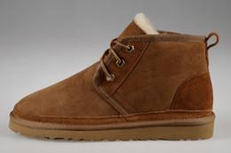 2019 homens vestir botas de tornozelo Hot botas Sale-Inverno botas clássicas novas dos homens série Newm cintas casuais arranque a quente Running Shoes