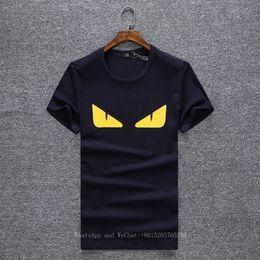 2019 mostrar patrones de ropa Camisetas para hombres de verano de manga corta T Lástima Hombre Nuevo patrón Fácil Cuello redondo Mostrar solicitud para adolescentes coreanos Ropa de hombre Ropa mostrar patrones de ropa baratos