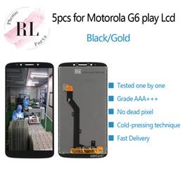 5 ШТ. Для Motorola G6 Play ЖК-экран с сенсорным экраном дигитайзер в сборе для Moto G6Play XT1922 5,7-дюймовый ЖК-экран cheap 5.7 inch touch screen от Поставщики 5.7-дюймовый сенсорный экран