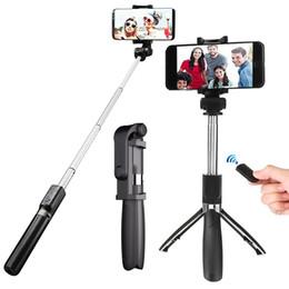 selfie Stock mit Stativ Bluetooth Plastiklegierungsselbststock selfiestick Telefon smartphone selfie-stick für iphone Samsung huawei von Fabrikanten