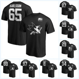 camisa de 88 t Desconto 65 Erik Karlsson 2019 Jogo All-Star Camisetas 29 Marc-Andre Fleury 87 Sidney Crosby 29 Nathan MacKinnon 88 Brent Burns 97 Camisa McDavid