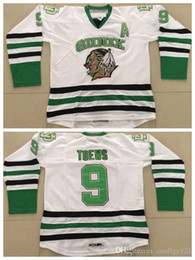 Sioux jersey on-line-Qualidade superior # 9 Jonathan Toews Faculdade Hockey Jersey NCAA North Dakota Luta Sioux 9 Jonathan Toews jerseys Universtiy um Patch