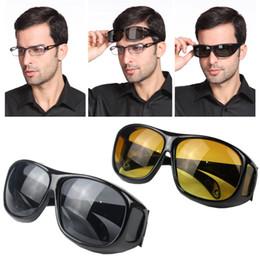 HD Vision Wrap Arounds Gafas Seguridad Noche Conducción Gafas a prueba de viento Gafas Unisex Gafas antideslumbrantes Gafas protectoras UV400 desde fabricantes