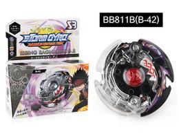 Tormenta beyblade online-Storm Guard Beyblade Burst Metal Gyro Generation Gyroscope Combate Bleyblade Toys Venta con Pull Wire Bayblades Launcher BB811B