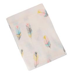 Muslin онлайн-Детское пеленальное одеяло из хлопка для новорожденных Детские постельные принадлежности