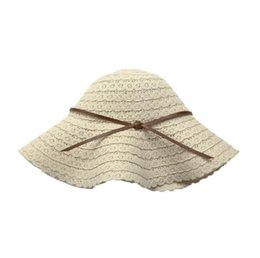 ac3b8649 2019 new hot breathable straw hat outdoor travel lace sunshade female big  beach Korean version of the foldable sun protection sun hat