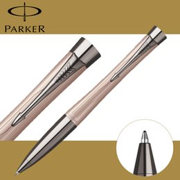 2019 metal canetas ponto de bola Full Metal Parker Urbano Premium caneta esferográfica Business Parker ball point Pen como presente de Luxo Escritório estudante Escrita Suprimentos metal canetas ponto de bola barato