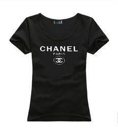 Canada 2019 Marque D'été T-shirts Femmes Tops Designer De Luxe t-shirts Lady Summer Beach Vêtements Tee-Shirts À Manches Courtes Tops Casual T-shirt Offre