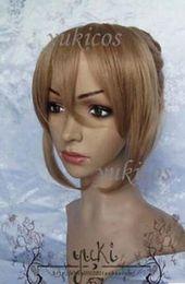 Hetalia cosplay feminino on-line-FRETE GRÁTIS + Axis Powers Hetalia APH anti França fêmea marrom bun cosplay peruca