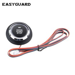 series engines Promo Codes - EASYGUARD Replacement push engine start stop button for ec002 es002 ec008 series P2 style car