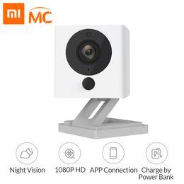 piccola telecamera interna ip Sconti Xiaomi Mijia Xiaofang 1S Telecamera IP Wifi 110 gradi F2.0 1080P Zoom digitale Smart Home Security Camera App Control Baby Monitor