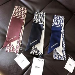 Vente chaude femmes bandeau marque Fashion Classic 100% vraiment foulards en soie mode bande de cheveux haute qualtiy bandeau sans boîte 003 ? partir de fabricateur