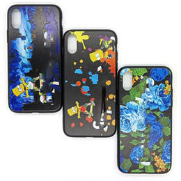 beliebte handy-marken Rabatt Für iphone xs max phone cases aus mode mädchen blume marke beliebte tpu pc handy case für iphone 6 7 8 plus