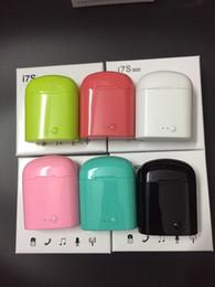 Deutschland I7 i7s tws twins bluetooth ohrhörer mini drahtlose kopfhörer headset mit mikrofon stereo kopfhörer usb für iphonex android sansumg mit box Versorgung