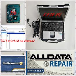 laptop di alldata mitchell Sconti auto diagnostic tool software Alldata mitchell di alldata 10.53 su richiesta 2015 installato anche sul computer portatile CF30 4G + 1TB HDD