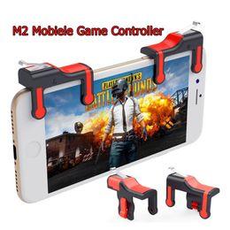 tremor de telefone Desconto M2 smart phone game controlador anti-shake game handle tiro de precisão para iphone xs xiaomi huawei samsung telefone