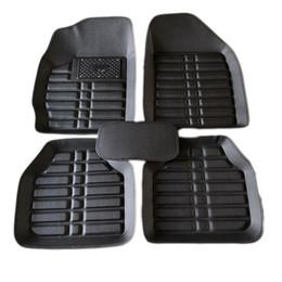 Tapis de sol avant arrière noir pour tapis de voiture en cuir pour tapis 3D antidérapants imperméables 4 couleurs ? partir de fabricateur