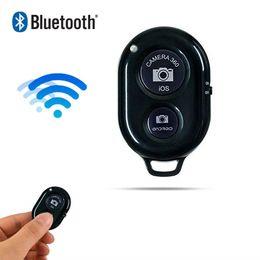 Disparador de bluetooth android online-Teléfono Bluetooth Disparador automático Botón de obturador selfie stick Obturador Lanzamiento Control remoto inalámbrico para iphone xiaomi huawei Android