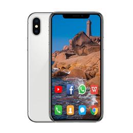 6.5 pulgadas Goophone teléfono XS MAX teléfono inteligente 1 + 8G 1 + 16G GSM WCDMA red Smartphone con ID de rostro Quad Core MTK6580 de carga inalámbrica desde fabricantes