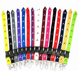 2019 chaveiros para arma 108 Estilos Neck Blue Pink Love Letter pulseira passadeira Celular Correia de pescoço Key Ring keychain Strap Celular para todos os modelos DHL