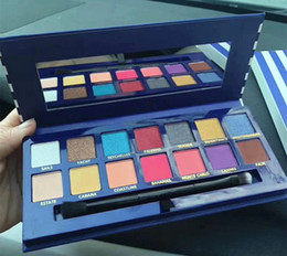 Canada La plus nouvelle palette de maquillage Hot Brand 14colors Palette d'ombres à paupières chatoyante Matière couleurs Haute qualité expédition DHL Offre