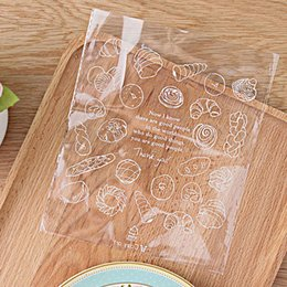 Хлеб пластиковые пакеты печенье Печенье целлофан мешок свадебные украшения торт конфеты упаковка сумки день рождения подарочные пакеты от