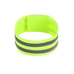 pulseras deportivas elásticas Rebajas Destacado nocturno banda elástica reflectante Una sola noche en marcha brazalete deportivo brazalete leggings soporte