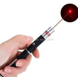 Diodos laser vermelhos on-line-Visible laser diodo laser ponteiros grande luz poderosa à moda 650nm 5mw vermelho azul verde ponteiro laser luz caneta lazer feixe navio livre