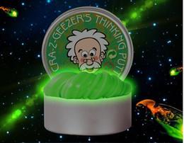 2019 material de juguetes de espuma Inteligente Luminoso Color Limo Niños Juguetes Creativo Mano Goma Silly Putty Plastilina Liberación Arcilla Caucho Barro