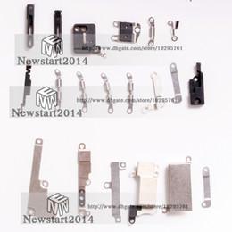 Iphone внутренний набор скобок онлайн-Внутренние аксессуары для iPhone 8G 8 Plus внутри мелких металлических деталей Держатель кронштейна Щит Набор пластин