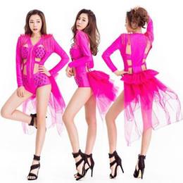 2019 tutu de ballet adulto por atacado 2019 Singer Stage Show Traje DJ Dance Outfit Desempenho Desgaste Bar Boate Dança Moderna Playsuit Dança Chothes
