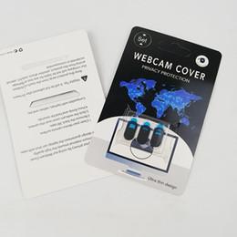 Nuova custodia per webcam per tablet PC iPad Telefono portatile Webcams esterne Dispositivi Proteggi la tua privacy sottile con l'imballaggio al dettaglio da