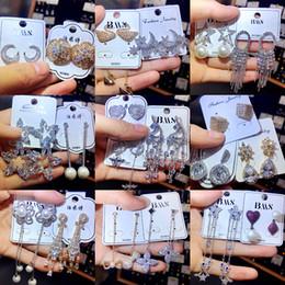 orecchini di marca migliori Sconti Orecchino di moda Galvanotecnica Ago in argento 925 Diamante antiallergico Orecchini in oro nobile temperamento Accessori squisiti per signora