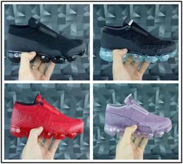 2019 zapatillas deportivas tamaño chicas nike air max airmax vapormax VM 2018 Baby Kids Sneakers Running Shoes Niños Zapatos deportivos Slip-On Boys Chicas Training Sport Sneakers shoe Size US 11C-3Y rebajas zapatillas deportivas tamaño chicas
