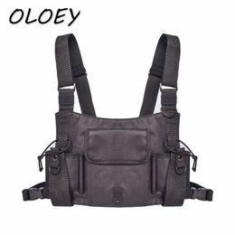 sac de style tactique Promotion Sacs tactiques de coffre d'hommes Sacs d'épaule de hip hop Kanye Unisex Alyx Streetwear Packs fonctionnels Style Gilets Avec Poche!