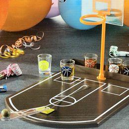 2019 jogos de mesa de natal Mini Adulto Casa Pub Mesa De Tiro De Basquete De Vidro Shoot Shoot Shoot Shoot Toy Shoot Toy Presente de Natal Brinquedos desconto jogos de mesa de natal