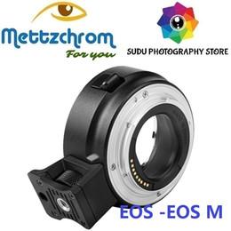 2019 caméra e Adaptateur électronique autofocus pour objectif Canon EF-S EOS vers appareil photo EF-M EF-M ADAPTATEUR EF-EOSM promotion caméra e