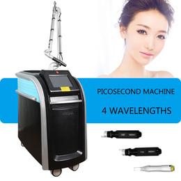 Tatuagem de sangue on-line-Máquina de picossegundo laser yag Remoção de Tatuagem Colorida Mais Novo tratamento de Acne Picosure Vasos Sanguíneos Remoção de Pigmentos de Círculos Escuros