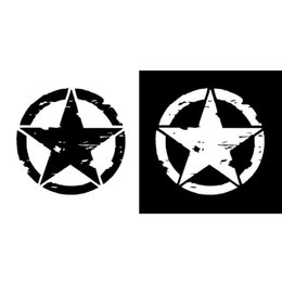 Canada Autocollants de voiture 15 cm * 15 cm ARMY Star Graphic Stickers Moto autocollants vinyle Car-styling # 306 supplier army stickers decals Offre