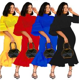Argentina Vestido ajustado de las mujeres vestidos de bola de la sirena de tul remiendo apretado ver a través de malla de cola de pescado vestidos midi elegante nuevo vestido de fiesta de noche cheap l ball gown tulle Suministro