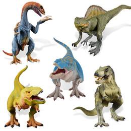 2019 minecraft pour les jouets 32 cm Grande Taille Jurassique Vie Dinosaures Modèle Animal Dinosaures Figurines Enfants Jouer Jouets Garçon Enfants Jouet Cadeau Détecteur de Maison minecraft pour les jouets pas cher