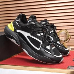 Calzado hombre moda deporte online-Zapatos para hombre Plataforma de zapatillas B24 Casual Chaussures de sport pour hommes Hombre Zapatos Casual Lujo Transpirable con caja original Calzado de moda