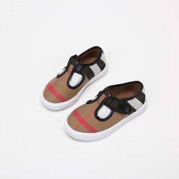 631c2e464 Zapatillas de deporte para niños Zapatillas de deporte de moda en blanco y  negro Bebé niño niña Diseñador Zapato de cuero Marca Zapatillas deportivas  ...