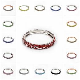 Amor amistad oro online-Charm Bracelet Charm Diamond Bracelet Silver Gold Plated Bangle Colorful Love Friendship Jewelry Venta al por mayor Diamond Bracelet Bracelet