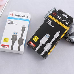2019 embalaje micro cargador Cable de carga rápida de 1.5m 5ft cable de sincronización de datos USB para Android Micro V8 Cables del cargador del teléfono móvil con el paquete al por menor rebajas embalaje micro cargador