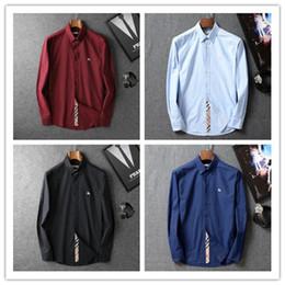chemise à carreaux Promotion Nouveau 2019 Marque Business Casual shirt hommes à manches longues rayé slim fit camisa masculina social masculin T-shirts nouveau mode homme vérifié