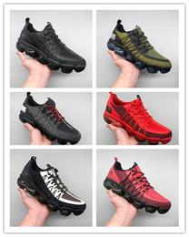 max tn esportes sapatos Desconto Nike Air Max Tn novo tênis de corrida Ultra TN Além disso Zebra Shoes clássico Outdoor Run Sapatos tn Preto Branco Esporte Choque das sapatilhas dos homens requin Olive prata BS106