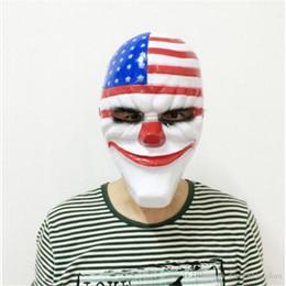 Toptan-Yeni 1 ADET PVC Korkunç Palyaço Maskesi Cadılar Bayramı Maskesi Antifaz Partisi Maskara Carnaval Fantezi Elbise Kostüm 20190409ayq Için nereden